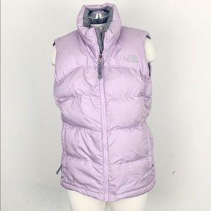 The North Face Lavender 700 Down Puffer Vest